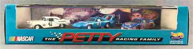 Hot Wheels Collectibles NASCAR The Petty Racing Family