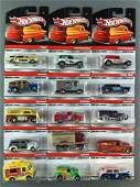 Group of 15 Hot Wheels Delivery Sweet Rides diecast