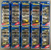 Group of 10 Hot Wheels Gift Pack diecast vehicle sets