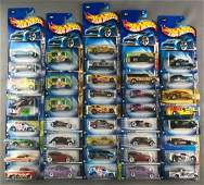 Group of 40 Hot Wheels diecast vehicles in original