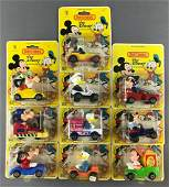 Group of 10 Matchbox Walt Disney diecast vehicles in