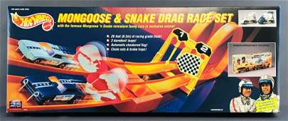 Hot Wheels Mongoose and Snake Drag Race Set