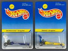 Group of 2 Hot Wheels Dragsters