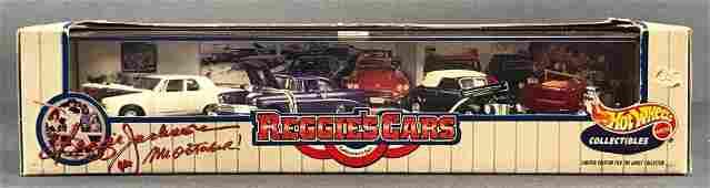 Hot Wheels Reggies Cars diecast vehicle set in