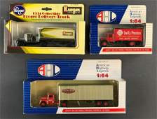 Group of 3 diecast vehicles in original packaging