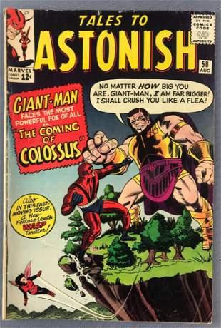 Marvel Comics Tales to Astonish No. 58 Comic Book