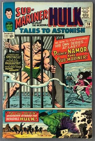 Marvel Comics Tales to Astonish No. 70 Comic Book