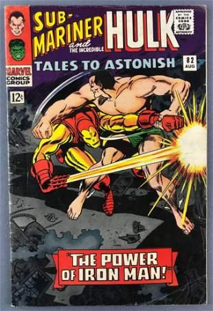Marvel Comics Tales to Astonish No. 82 Comic Book
