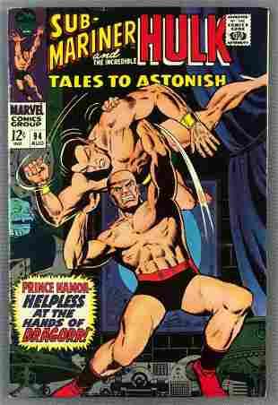 Marvel Comics Tales to Astonish No. 94 Comic Book