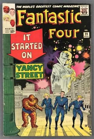 Marvel Comics Fantastic Four No. 29 Comic Book