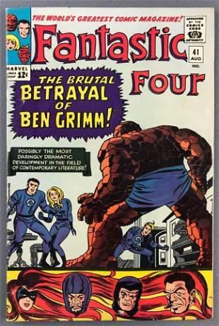 Marvel Comics Fantastic Four No. 41 Comic Book