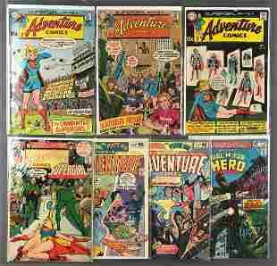 Group of 7 DC Comics Adventure Comics Comic Books