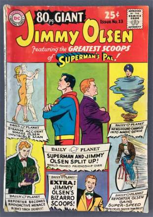 DC Comics Giant Supermans Pal Jimmy Olsen No. 13 Comic