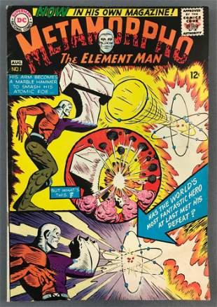 DC Comics Metamorpho No. 1 Comic Book