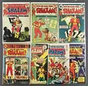 Group of 7 DC Comics Shazam Comic Books