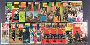 Group of 21 Gold Key Bonanza comic books
