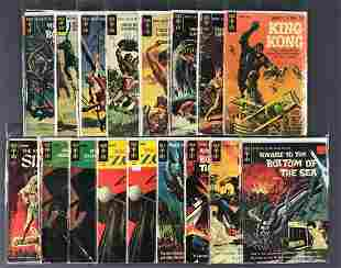Group of 17 Gold Key assorted comic books