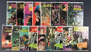 Group of 17 Gold Key assorted horror comic books