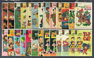 Group of 26 Gold Key assorted comic books