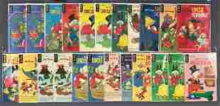 Group of 23 Gold Key Uncle Scrooge comic books