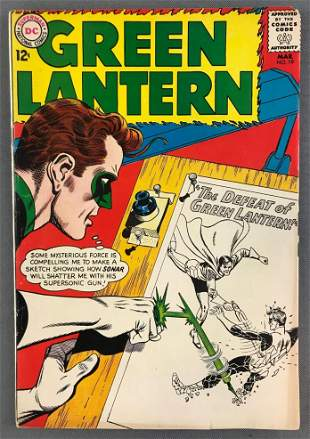 DC Comics Green Lantern No. 19 Comic Book