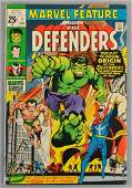 Marvel Comics Marvel Feature The Defenders No 1 Comic
