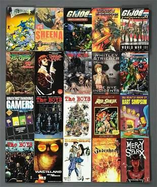 Group of 20 assorted trade comics