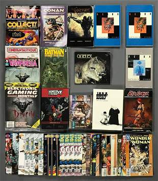 Group of approximately 40 assorted comic books and more
