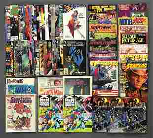 Group of approximately 50 assorted comic books and more