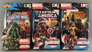 Group of 3 Marvel Comic Packs in original packaging