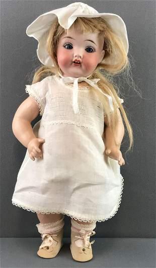 Antique 18 inch German bisque doll Horsman