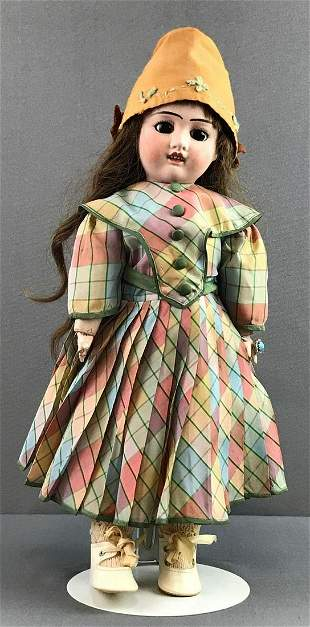 Antique 17 inch French bisque doll Verlingue