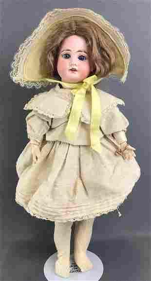 Antique 17 inch German bisque doll Marseille