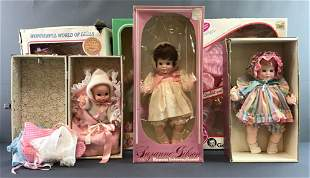 Group of 10 ba dolls and accessories