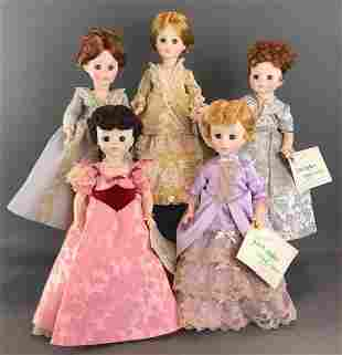Group of 5 Madame Alexander First Ladies of The United
