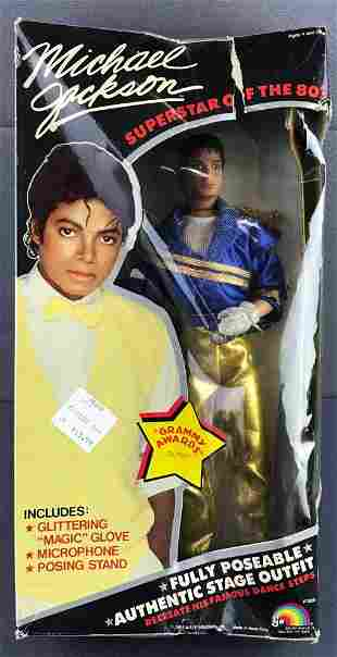 Ljn Michael Jackson poseable action figure in original