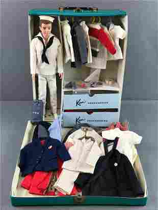 Group of approximately 50 Mattel Barbie Ken doll,