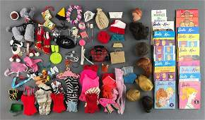 Group of approximately 100+ Mattel Barbie accessories