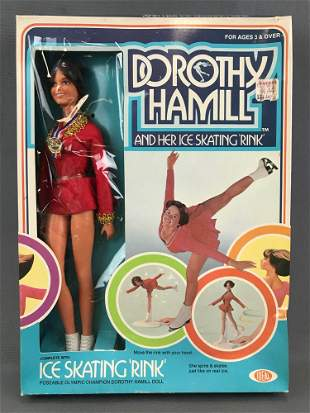Vintage 1977 Ideal Toy Corp. Dorothy Hamill fashion