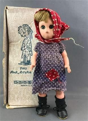 Vintage 1958 Brookglad Corp. Poor, Pitiful Pearl doll