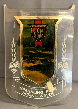 Vintage old style light up advertising Beer Sign