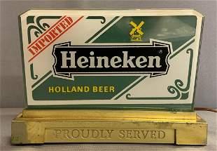 Vintage Heineken advertising cash registers topper