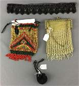 Group of Antique Beaded Purses and more