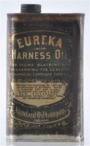 Antique Standard Oil Eureka Harness Oil Advertising Oil