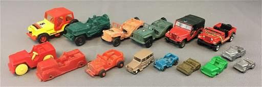Group of Vintage Jeeps