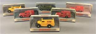 Group of 6 Matchbox Die-Cast Dinky Vehicles in Original