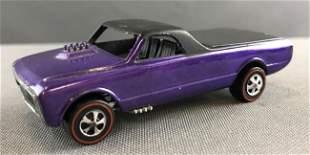 Hot Wheels custom fleetside Redline die cast car