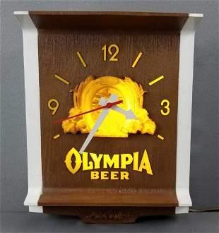 Vintage Olympia Beer bar sign
