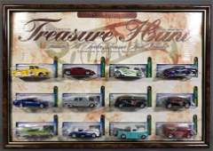 Hot Wheels 2002 Treasure Hunt die-cast vehicles set in