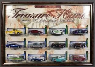 Hot Wheels 2002 Treasure Hunt die-cast vehicles set in